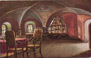 Moscow, Gothic hall in the Romanov Boyars castle s: Konstantinoff