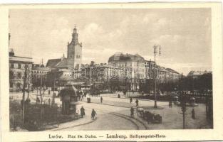 Lviv, Lwów, Lemberg; Heiligengeist-Platz / square