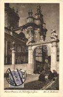Lviv, Lwów, Lemberg; gate of St. Jura cathedral