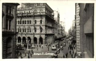 Sydney, George Street, tram, automobiles