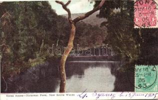 New South Wales, National Park, River scene
