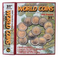 Világ pénzérméi katalógus 1901-napjainkig - Standard Catalog of WORLD COINS 1901-present (31. kiadás) 2003. használt, kemény kötésben Krause - Standard Catalog of World Coins 1901-present (31st Edition) 2003. used, hardcover