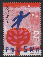 Europa CEPT, integration margin stamp, Europa CEPT, integráció ívszéli bélyeg, Europa CEPT, Integration Marke mit Rand