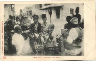 Djibouti, Somalian cafe, folklore
