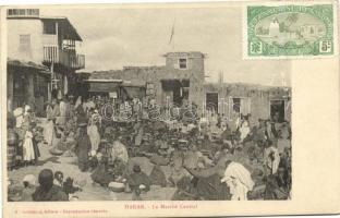 Hakar, Central market place, merchants, folklore; French Somaliland