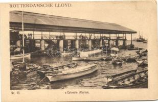 Colombo, Rotterdamsche Lloyd, boats