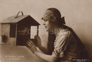 Kosáry Emma 'Színhházi Élet' kiadása (12 x 8 cm)
