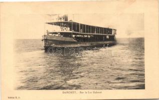 Dahomey, Nakoué lake, ship