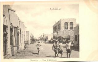 Djibouti, Rue de Athenes / street