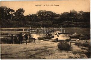 Dahomey, Un chantier / dockyard