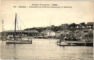 Dakar, Trading port, barracks