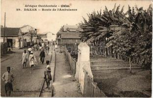 Dakar, Ambulance road, folklore
