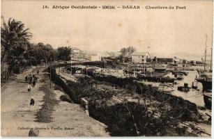 Dakar, port
