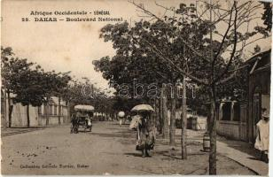 Dakar, National boulevard