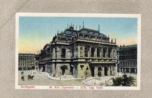 Budapest VI. Operaház litho