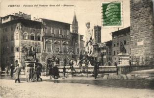 """Firenze, Fontana del Nettuno detta del """"Biancone"""" / Fountain"""