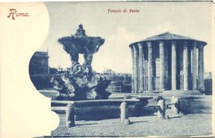 Roma Tempio di Vesta / Temple of Vesta