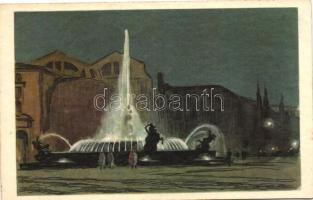 Roma, La Fontana delle Najadi / Fountain