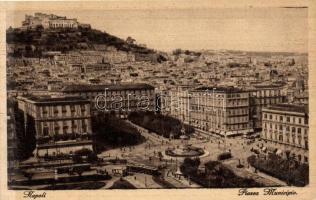 Napoli, Piazza Municipio / square