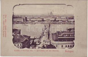 Budapest, St. Stephen's Basilica, Divald, Art Nouveau, Budapest, a Bazilika felé, Divald, Art Nouveau
