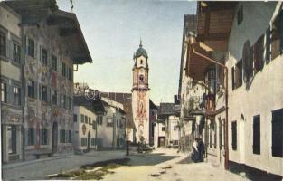 Mittenwald, Marktstrasse / market street