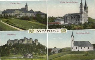 Maintal, Kloster Banz, Staffelberg, Kirche Vierzehnheiligen / cloister, church