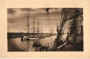 Hamburg, Segelschiffhafen / port, sailing ships