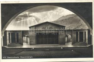 Oberammergau, Passionstheater / Passion play theatre