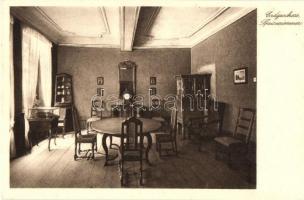 Frankfurt am Main, Goethehause, Erdgeschloss, Speisezimmer/ room interior