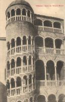Venice, Venezia;  Scala dei Palazzo Minelli / palace stairs
