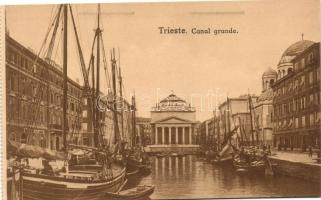 Trieste, Canal Grande, ships
