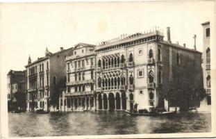 Venice, Venezia; Canal Grande, Ca d'Oro