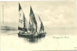 1899 Chioggiotti-Boot / ship
