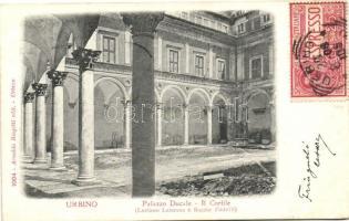 Urbino, Palazzo Ducale, Cortile / palace, courtyard