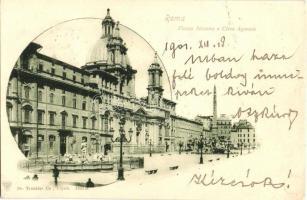 Rome, Roma; Piazza Navona o Circo Agonale / square