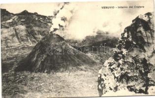 Mount Vesuvius, Vesuvio; crater interior