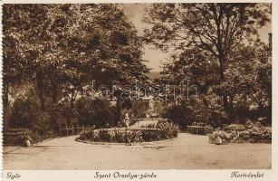 Győr, Szent Orsolya zárda, kert
