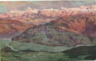 Dolomits, Bozner Ebene, Penegal-Kulm