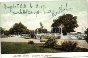 Buenos Aires, Barranca de Belgrano / park