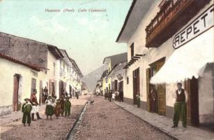 Huánuco, Calle Commercial / market street, shop