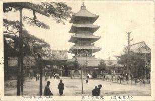 Osaka, Shitennoji (Tennoji temple)