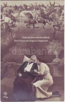 'Kaiser Max auf der Martinswand' Heinrich Joseph von Collin's ballad, scene