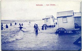 Ostend bathers