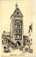 Riquewihr, Vieille porte / Gate