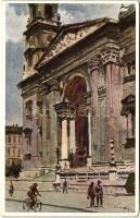 Budapest V. Szent István templom; Műemlékek Országos Bizottsága V. sorozat s: Csánky D.