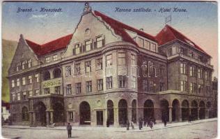 Brassó, Kronstadt; Korona hotel, Brassó, Kronstadt; Korona szálloda