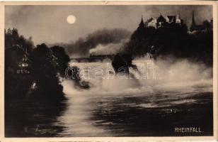 Rhine Falls, Rheinfall; Laufen castle