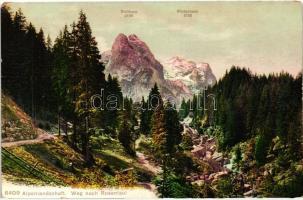 Alpenlandschaft, Weg nach Rosenlaui