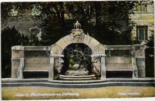 Leipzig, Marchenbrunnen am Thomasring / fountain