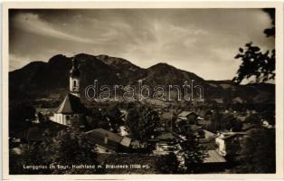 Lenggries im bayr. Hochland, Brauneck